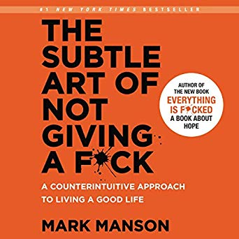 The Subtle Art of Not Giving a Fuck Audiobook