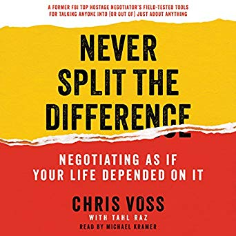 Never Split the Difference Audiobook